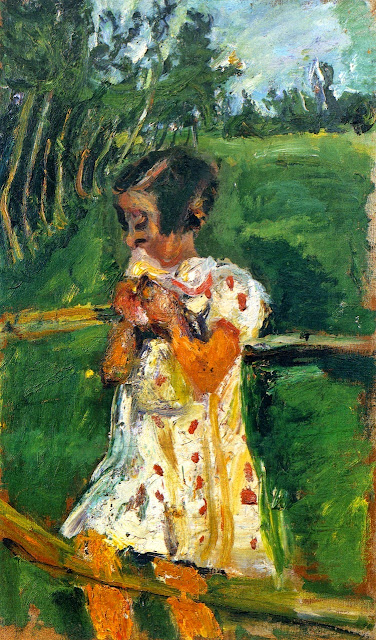 Chaim Soutine - Girl at Fence.