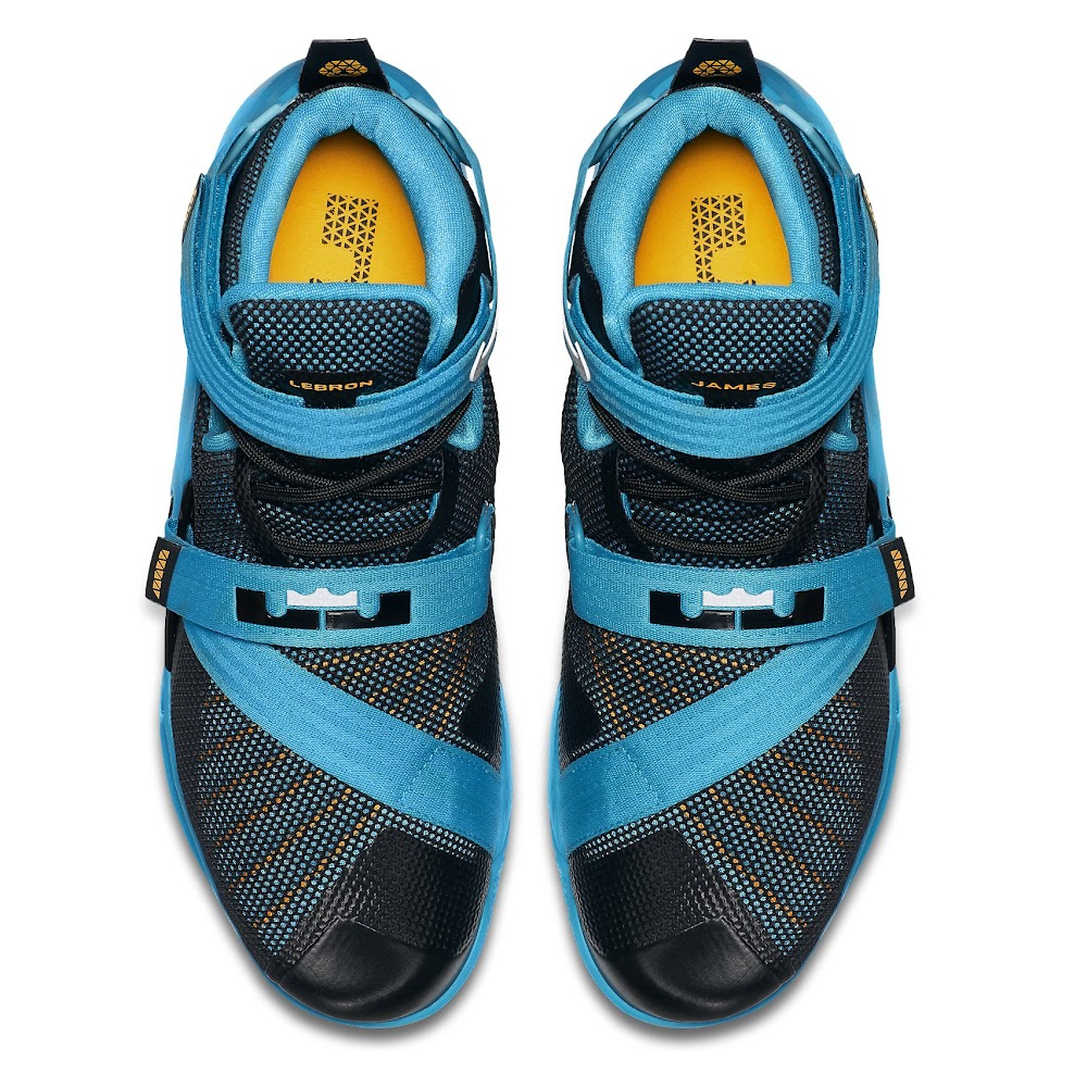 eec879fe4e9f LeBron 13 Shares its Blue Lagoon Style with the Nike Soldier IX ...