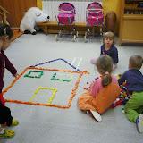 Hra ve třídě Zajíčků v MŠ Bařiny