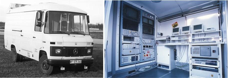 Bus Ernsta Dickmanns'a VaMoRs Mercedes van, Uniwersytet Bundeswehry Monachium, 1986-2003