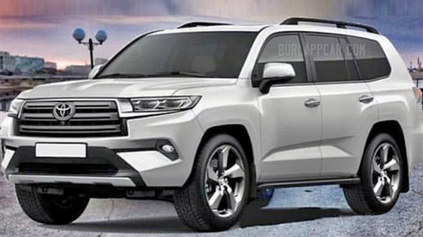 Burlappcar: 2022 Toyota Land Cruiser: new illustrations...