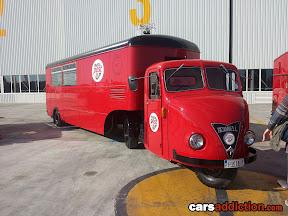 Scammel Post Truck