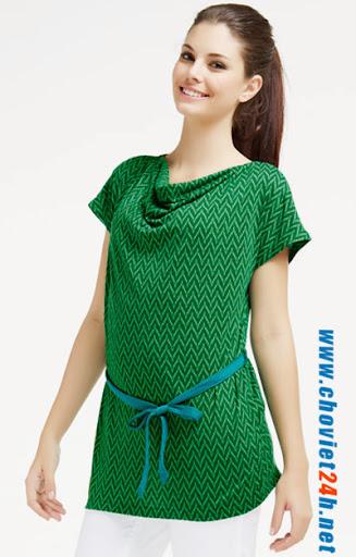 Áo thời trang Sophie Faity Green