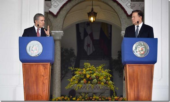 """Frente a la crisis humanitaria de Venezuela """"la solución debe ser de todos, su voluntad es clara y la nuestra también"""", afirmó el Mandatario de Colombia."""