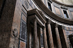 Pantheon Interior - Church of St. Mary and the Martyrs - Rome