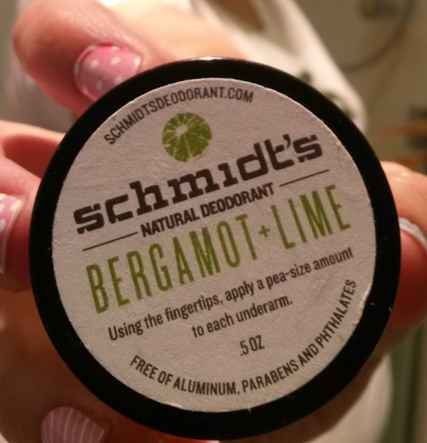 Schmidt's Natural Deodorant in Bergamot + Lime