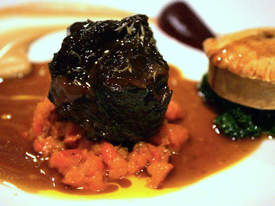 Beef Cheek at Kitchen W8