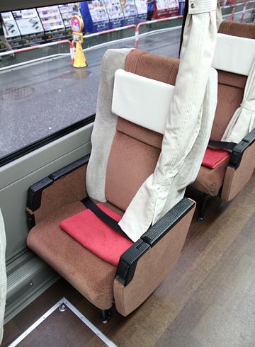京王電鉄バス 長野線 PS仕様車 K51205 プライムシングルシート
