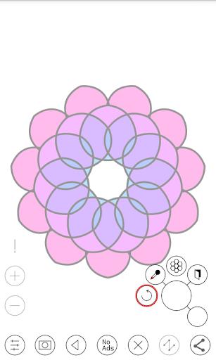 Line Art - Circular Vector Drawing App 1.1 screenshots 4