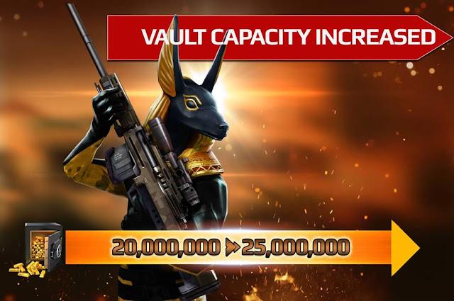 Sniper Fury Kasa Kapasitesi Arttı