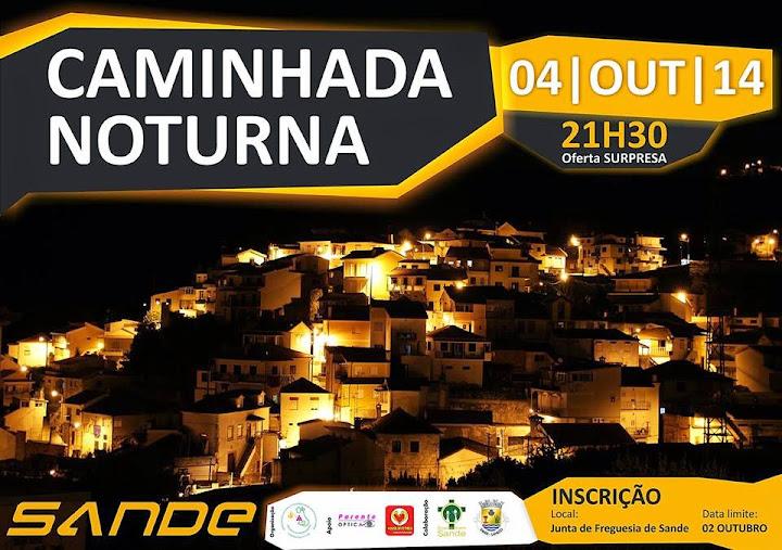 Caminhada Noturna - Sande - 4 de outubro de 2014
