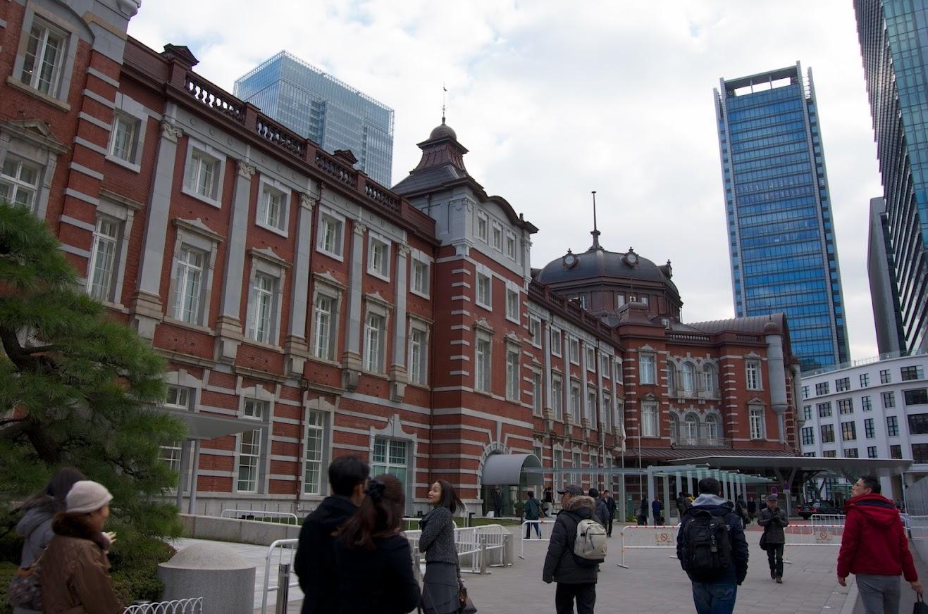 1914年開業のJR東京駅