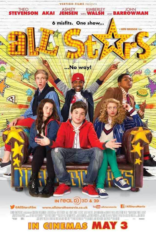 Poster Of English Movie All Stars (2013) Free Download Full New Hollywood Movie Watch Online At Alldownloads4u.Com