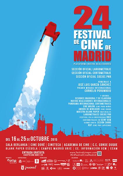 24º Festival de Cine de Madrid, del 16 al 25 de octubre  2015