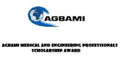 Agbami Medical and Engineering Professionals Nigerian Scholarship Award 2019