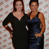 WWW.ENTSIMAGES.COM -  Sharon Marshall  and  Caroline Monk  arriving at        Variety Annual Dinner & Ball at The Dorchester, 55 Park Lane, London September 28th 2013                                                Photo Mobis Photos/OIC 0203 174 1069