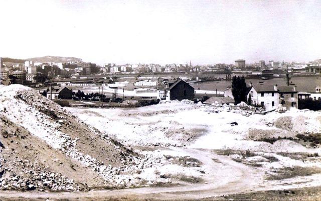Años 50 . Zona Mirador de Los Castros. Zona Mirador de Los Castros
