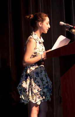 Ms. Amalya Megerman, Student Board of Education Representative Photos by TOM HART/  FREELANCE PHOTOGRAPHER