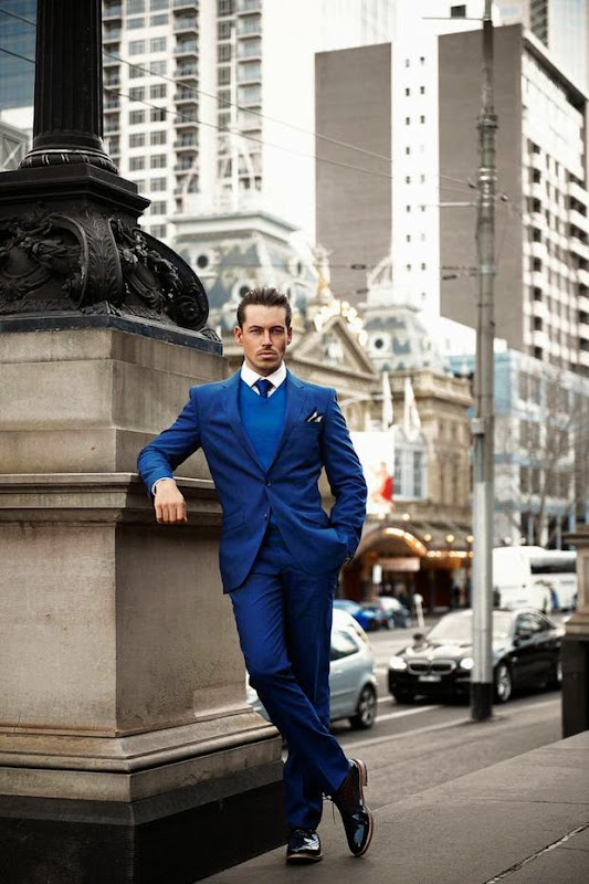 Men suited booted stylish photography