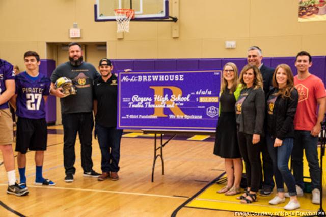 No-Li and Spokane Community Rally $12,000 To Support Rogers High School