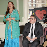 OIC - ENTSIMAGES.COM - Lynne Franks and Tom Watson at the One Billion Rising For Justice Photo Call at The House of St Barnabas London 10th February 2015 Photo Mobis Photos/OIC 0203 174 1069