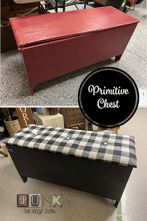 Primitive Chest Re-Make, a co-host pick at Funtastic Friday!