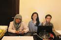 Frontdesk, meja registrasi seminar DONGKRAK #2