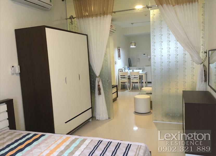 phòng ngủ căn hộ Lexingtot Residence AN PHÚ QUẬN 2