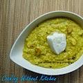Wheat oat moong porridge