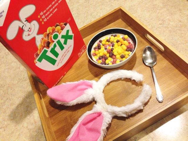 Trix Cereal, General Mills Cereal, Cinnabun Rabbit