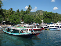 Ride to Gili Air - Lombok stop