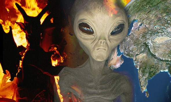Os alienígenas enviados pelo diabo estão chegando