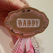 Baby Shower Title Buttons - DIY
