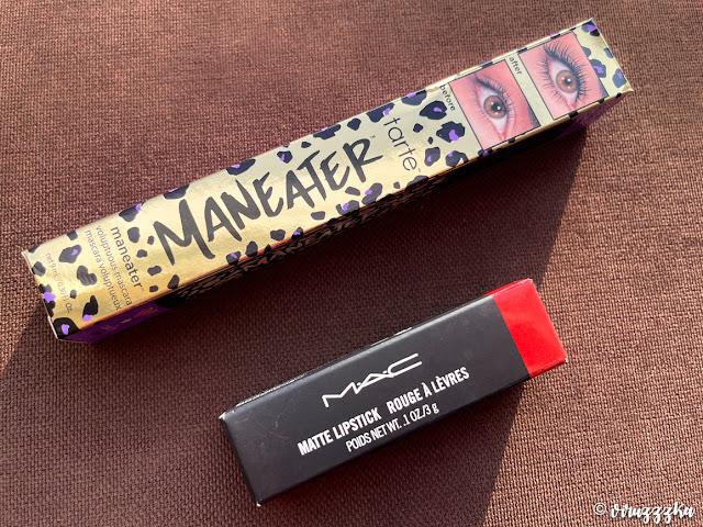 Tarte Maneater Mascara Mac Matte Lipstick Chili Review