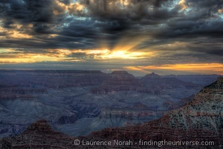 Grand canyon sunrise Mather Point 2
