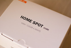 HOME SPOT CUBEの箱