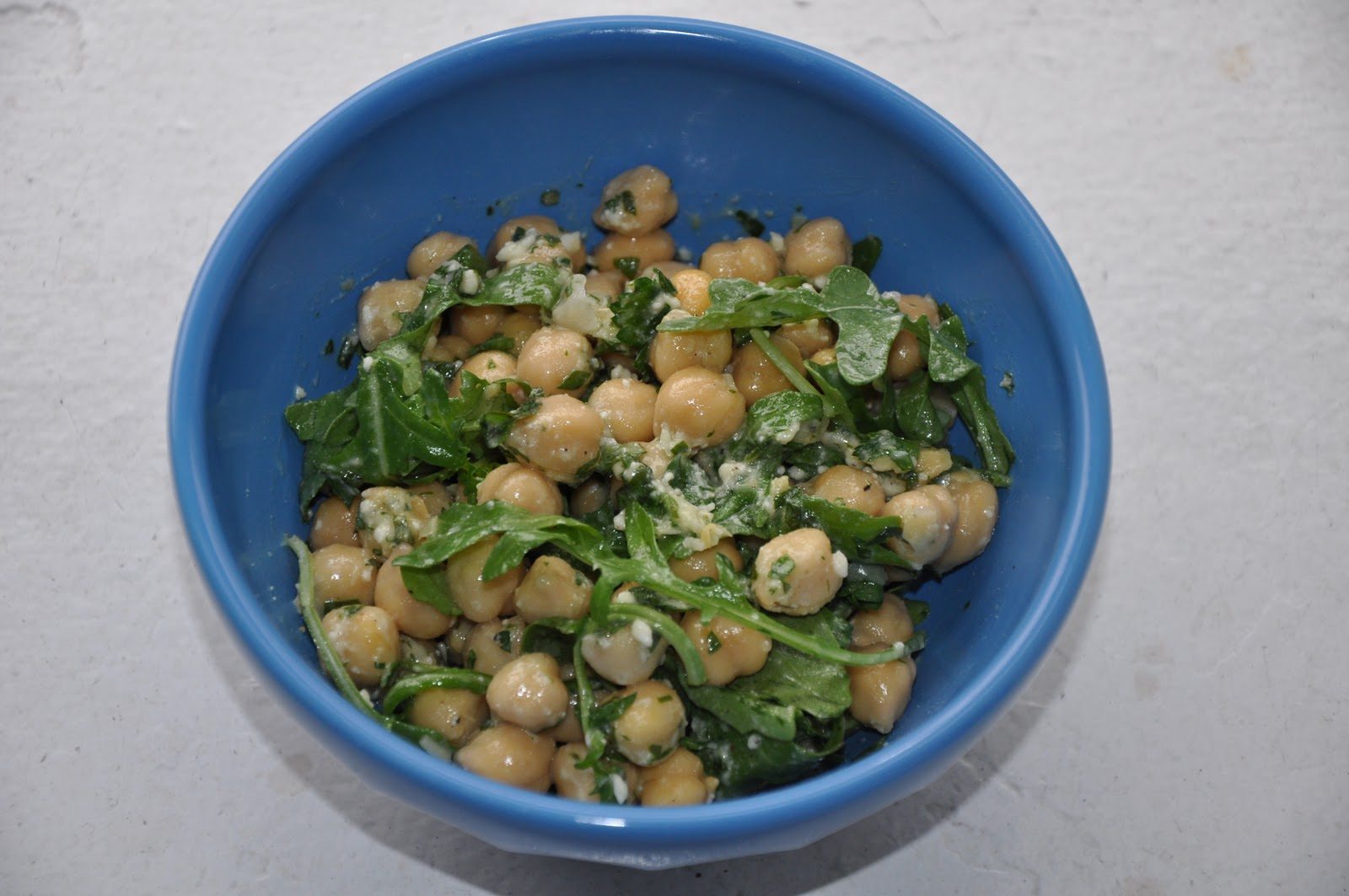 Slice of Rice: Chickpea Salad with Lemon, Parmesan and ...
