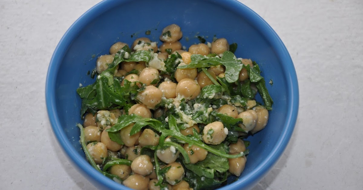Slice of Rice: Chickpea Salad with Lemon, Parmesan and Fresh Herbs