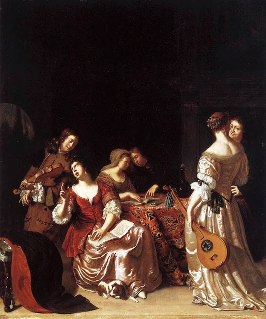 Frans van Mieris the Elder - Musical Company