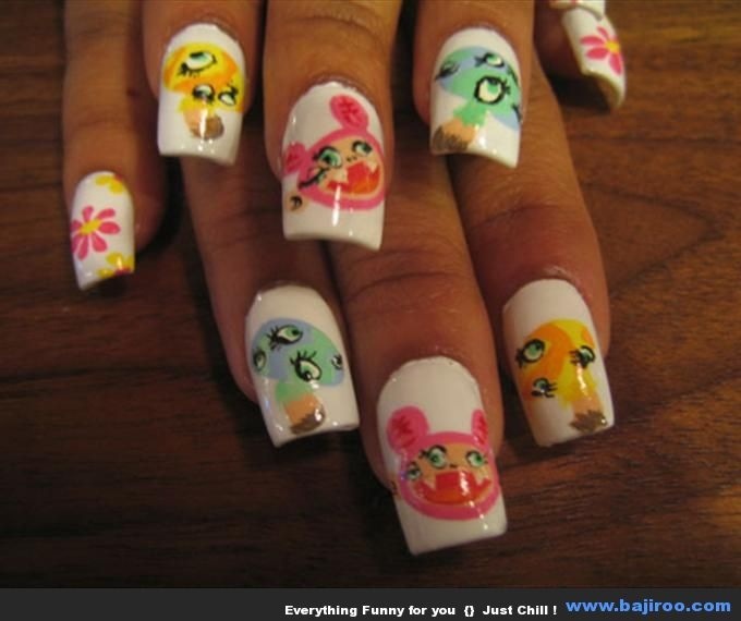 Funny Nail Art: FOR YOU LADY FUNNY NAIL ART IS HERE