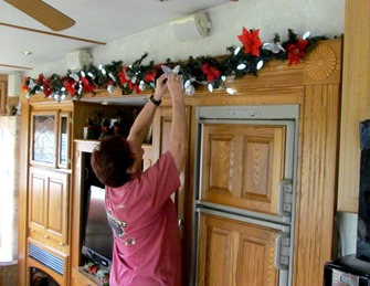1612007 Dec 05 Barb Decorating For Christmas