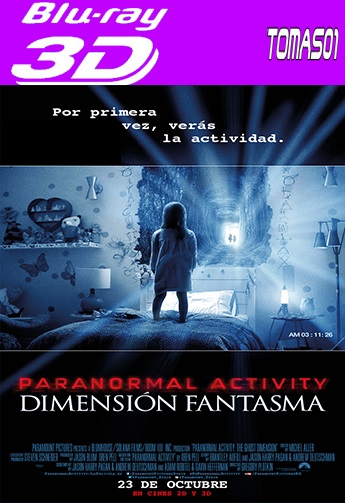Paranormal Activity 5: Dimensión Fantasma (2015) 3DFull (SBS/HOU)