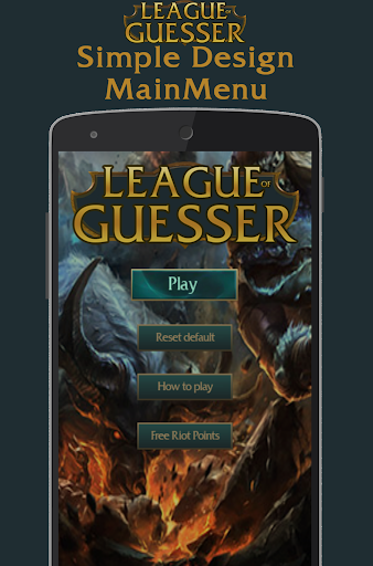 League Of Guesser: Free LoL RP
