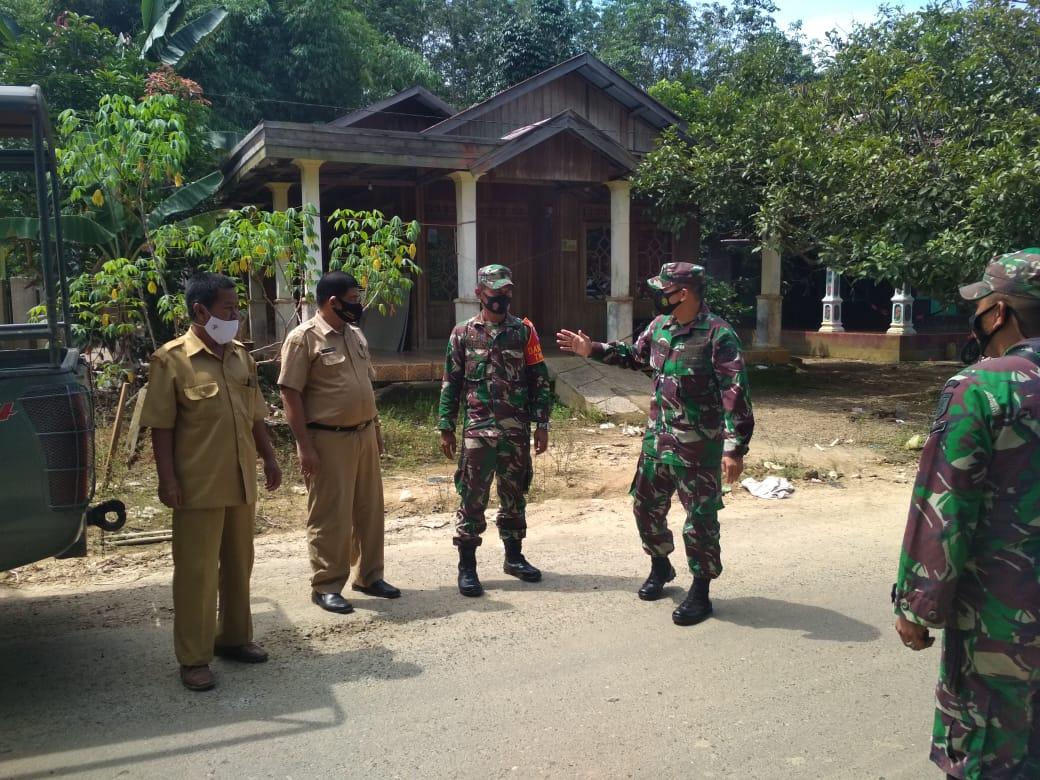 Dandim 1008/Tanjung Tinjau Lokasi TMMD Ke-110 Kodim 1008/Tanjung