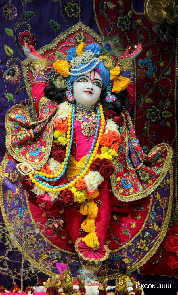 ISKCON Juhu Sringar Deity Darshan on 20th Jan 2017 (39)