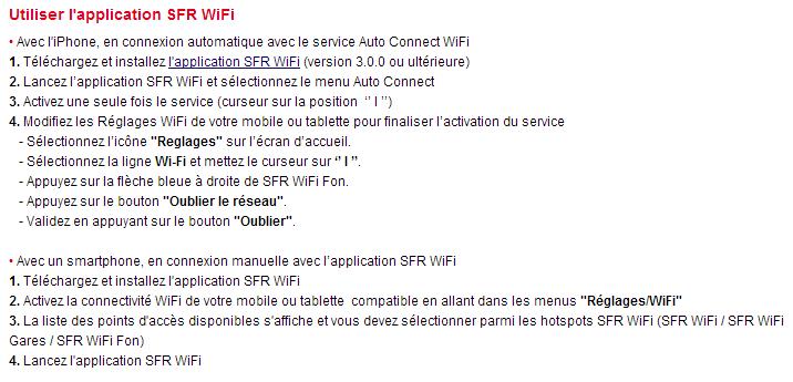 sfr wifi mobile identifiant
