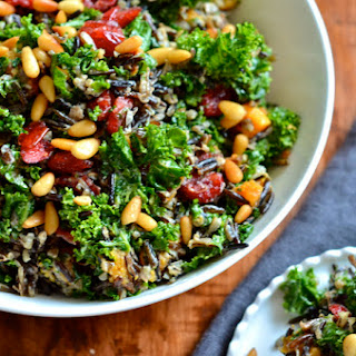 Butternut Kale and Wild Rice Salad