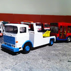 ERF B series 4x2 wrecker . I have a collection of wilts and dorset buses, this is a replica of one their wreckers ,its a standard rti cab . I set about scratch-building the chassis . and the body . the underlift is a working one made from evergreen plasticard and can be posed up or down . seen here towing a defunct bus