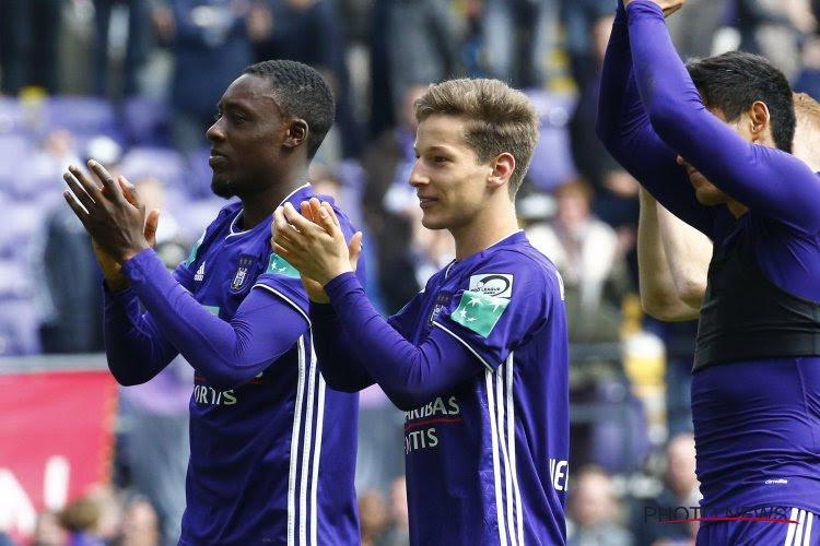 Yari Verschaeren stelt de fans van Anderlecht gerust