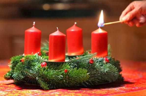Slikovni rezultat za prva adventska svijeća